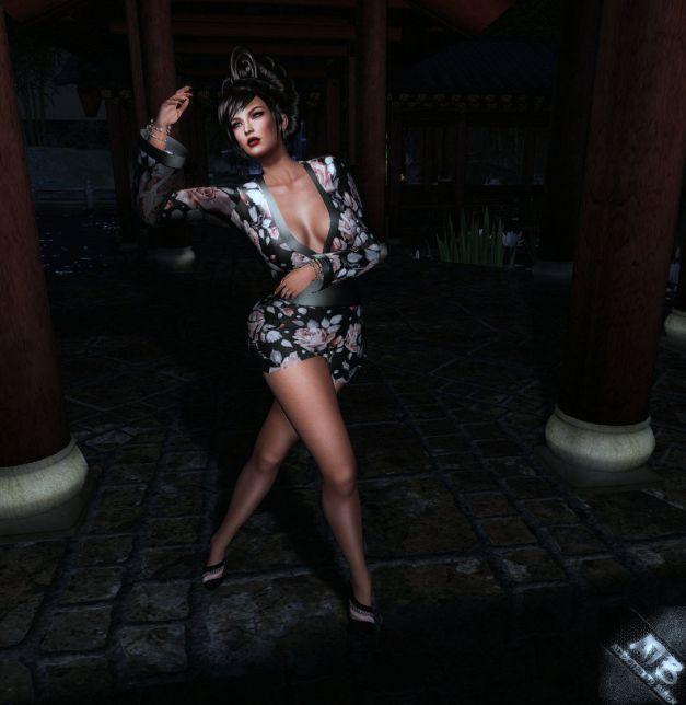 Farfalia Sayuri Kimono